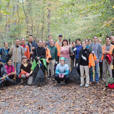 Great Falls Adopt A Crag – National Public Lands Day – Fall 2015