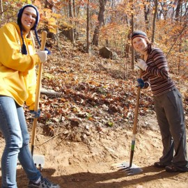 MAC Volunteers Donate more than 1,000 Hours of Service to Climbing Community in 2013