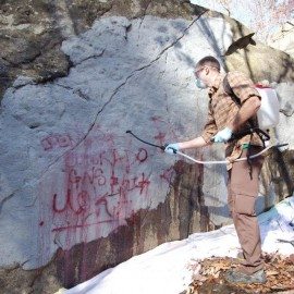 Want to Remove Graffiti? MAC Needs Your Help