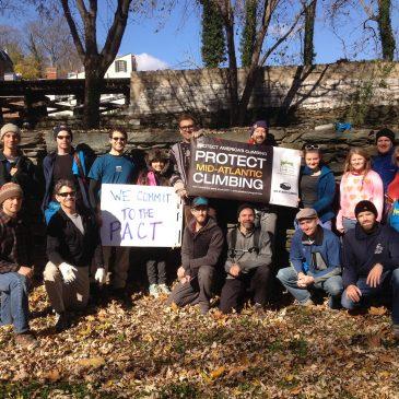 Preserving Climbing Access Fall 2014