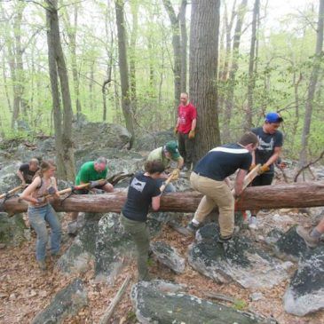 MAC and Access Fund Conservation Team come to Sugarloaf Mountain