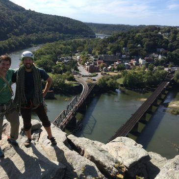 Access Fund and MAC meet with Harpers Ferry NPS