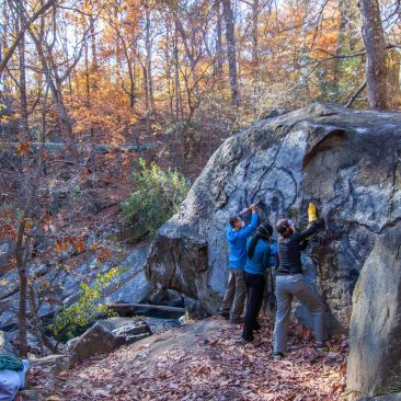 Rock the Block Northwest Branch Adopt A Crag – October 6, 2018