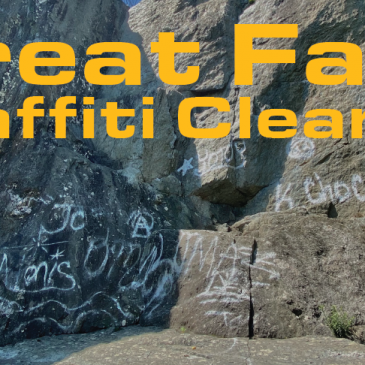Volunteer for Graffiti Cleanups at Great Falls!
