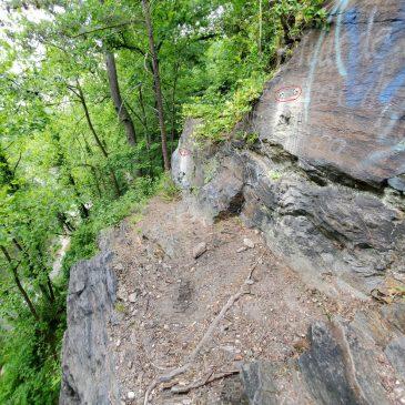 Bolts at Alberton Rock Raise Safety Concerns